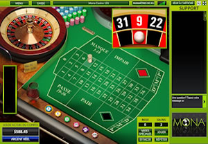 Play Roulette Crystal at Mona Casino